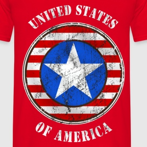 united states grunge style Hoodies & Sweatshirts - Men's T-Shirt