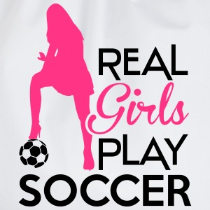 Real Girls play soccer Sweat-shirts - Sac de sport léger