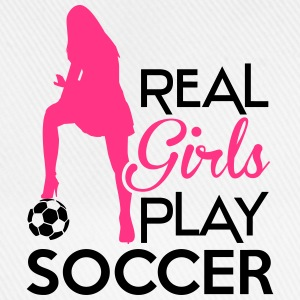Real Girls play soccer Sweat-shirts - Casquette classique