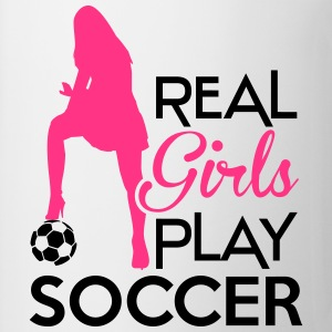 Real Girls play soccer Sweat-shirts - Tasse