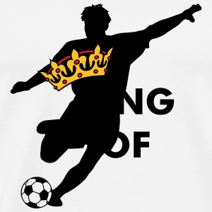Crown / King of soccer / football Caps & Hats - Men's Premium T-Shirt