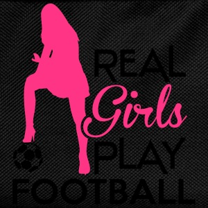 Real Girls play football Sweat-shirts - Sac à dos Enfant