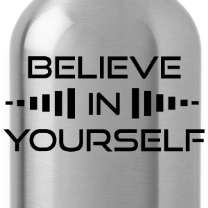 Believe in Yourself T-Shirt - Water Bottle