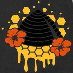 A beehive honeycomb T-Shirts - Cooking Apron