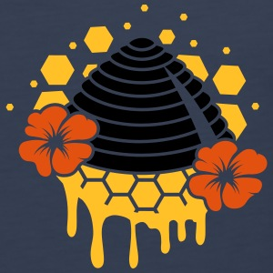 A beehive honeycomb T-Shirts - Men's Premium Tank Top