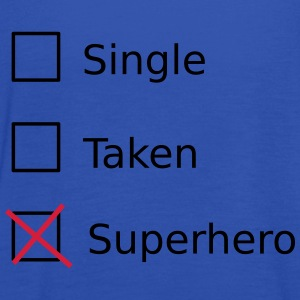 Single Taken Superhero T-shirts - Dame tanktop fra Bella