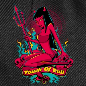 Devil Pin-Up Girl - Touch of evil Flaschen & Tassen - Snapback Cap
