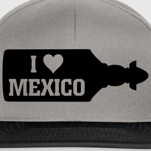 I Love Mexico Sierra Tequila Bottle T-Shirts - Snapback Cap