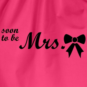 soon to be mrs Tops - Drawstring Bag