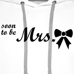 soon to be mrs Tops - Men's Premium Hoodie