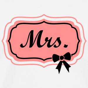 mrs retro frame Tops - Men's Premium T-Shirt