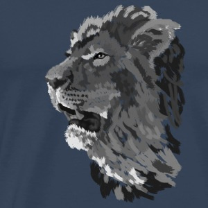 Lion Tops - Mannen Premium T-shirt