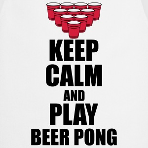 Keep calm and beer pong Tank Tops - Cooking Apron