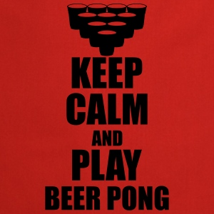 Keep calm and play beer p Tank Tops - Cooking Apron