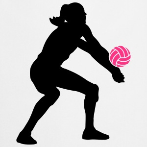 Volleyball Girl Tee shirts - Tablier de cuisine