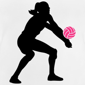 Volleyball Girl Tee shirts - T-shirt Bébé