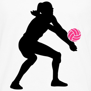 Volleyball Girl Tee shirts - T-shirt manches longues Premium Homme