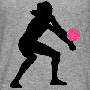 Volleyball Girl Débardeurs - T-shirt manches longues Premium Homme