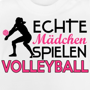 Real girls playing volleyball Shirts - Baby T-Shirt