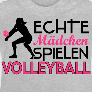 Real girls playing volleyball T-shirts - Baby T-shirt