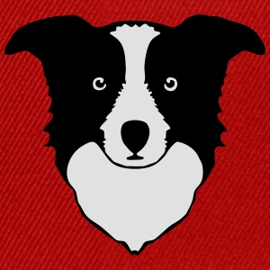 border collie Tee shirts - Casquette snapback