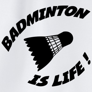 Badminton is life ! Flaskor & muggar - Gymnastikpåse