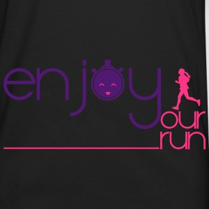 ENJOY YOUR RUN Sacs et sacs à dos - T-shirt manches longues Premium Homme