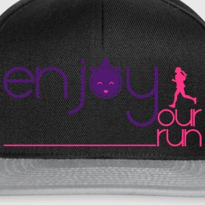 ENJOY YOUR RUN Sacs et sacs à dos - Casquette snapback