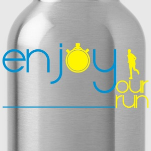ENJOY YOUR RUN Tee shirts - Gourde