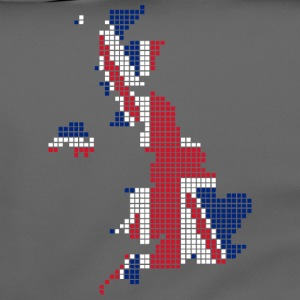 UK pixelated flag digital T-shirts - Schoudertas