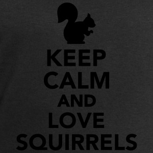Keep calm and love Squirrels T-Shirts - Männer Sweatshirt von Stanley & Stella