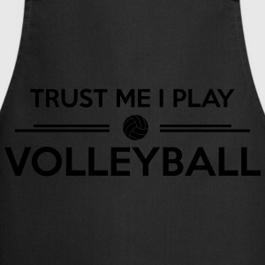 Trust me I play volleyball Sweats - Tablier de cuisine
