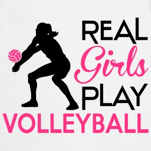 Real girls play Volleyball Sweat-shirts - Tablier de cuisine