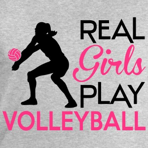 Real girls play Volleyball Camisetas - Sudadera hombre de Stanley & Stella
