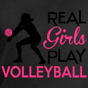 Real girls play Volleyball T-Shirts - Men's Sweatshirt by Stanley & Stella