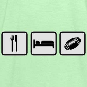 Eat Sleep American Football Torby i plecaki - Tank top damski Bella