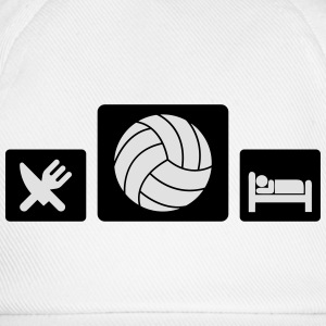 Eat Volleyball Sleep Magliette - Cappello con visiera
