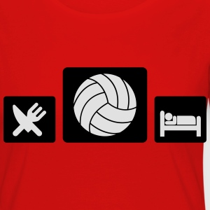 Eat Volleyball Sleep Tee shirts - T-shirt manches longues Premium Femme