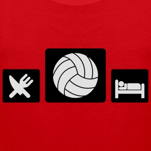 Eat Volleyball Sleep Tee shirts - Débardeur Premium Homme
