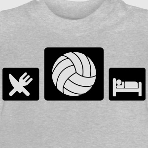 Eat Volleyball Sleep Tee shirts - T-shirt Bébé