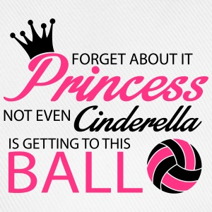 Not even Cinderella is getting to this ball! Felpe - Cappello con visiera
