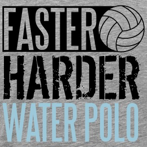 Faster, harder, water polo Tank Top - Koszulka męska Premium