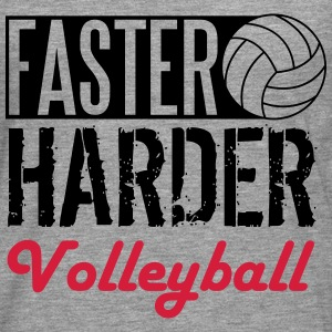 Faster, harder, Volleyball Tee shirts - T-shirt manches longues Premium Homme