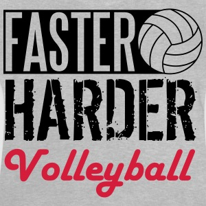 Faster, harder, Volleyball Tee shirts - T-shirt Bébé