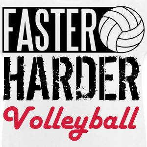 Faster, harder, Volleyball T-shirts - Baby T-shirt