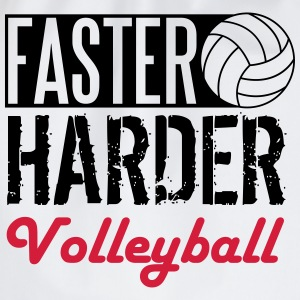 Faster, harder, Volleyball Shirts - Gymtas