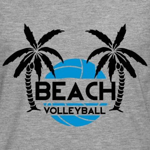 Beach Volleyball Tee shirts - T-shirt manches longues Premium Homme