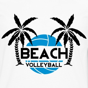 Beach Volleyball Shirts - Mannen Premium shirt met lange mouwen