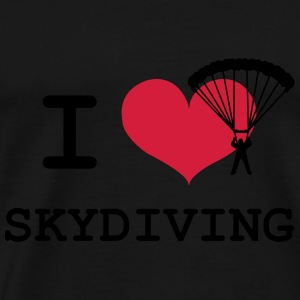 Skydiving Sweats - T-shirt Premium Homme