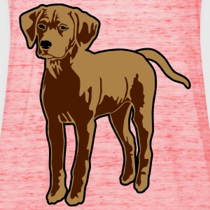 Dog Puppy T-shirts - Dame tanktop fra Bella